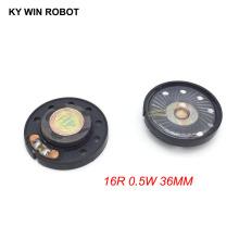 2pcs New Ultra-thin speaker Doorbell horn Toy-car horn 16 ohms 0.5 watt 0.5W 16R speaker Diameter 36MM 3.6CM thickness 9.2MM