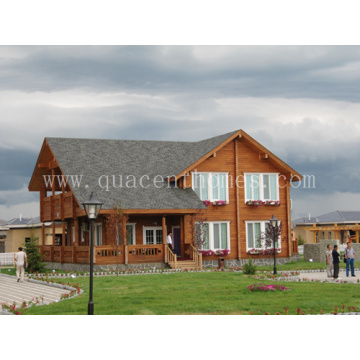 Stick Frame Prefab Wooden House in Mudanjiang River