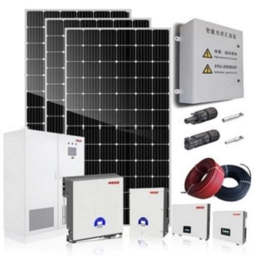 Complete solar system 5KW on grid solar panel