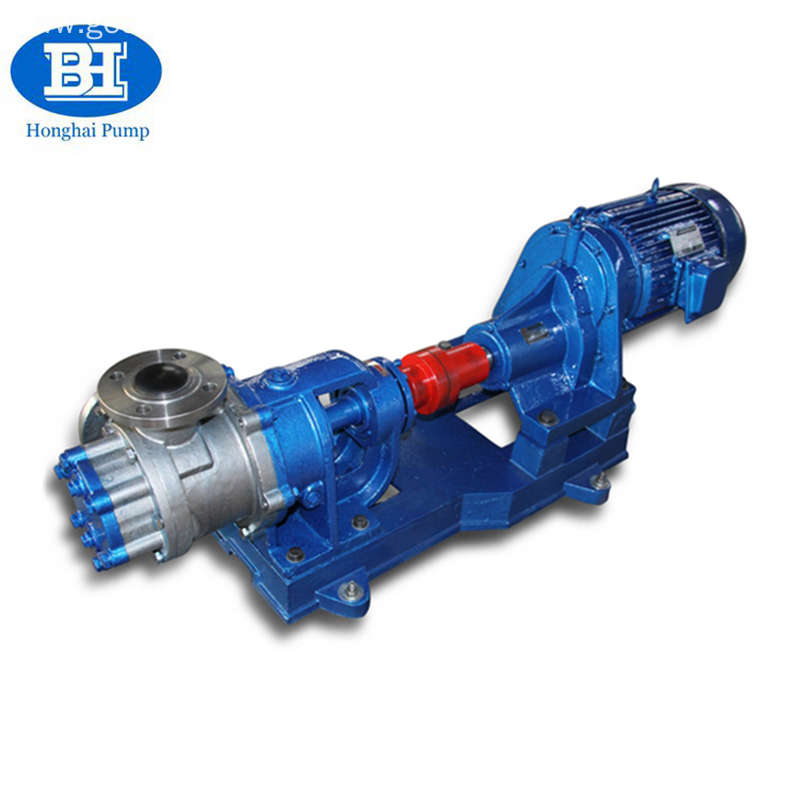 High Viscosity Toothpaste Rotor Gear Pump With No Pulsation