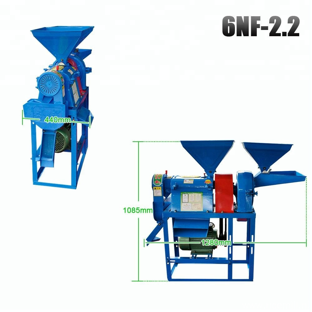 Small rice milling machine