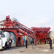 75 Mobile Concrete Batching Plant