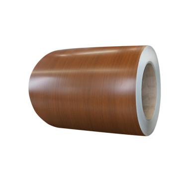 Anti scratch wood grain aluminium shutter coil