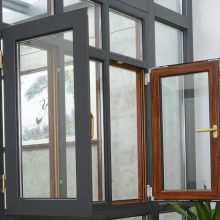 Lingyin Construction Materials Ltd latest window design window lock handle aluminum casement window