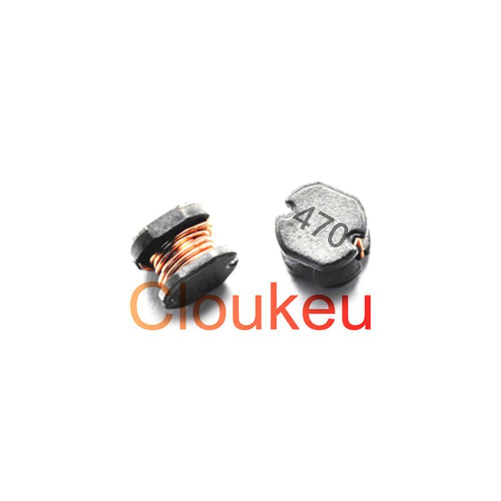 10pcs CD53 47UH (470) SMT Power Inductor Choke Coils 5.8*5.2*3