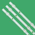 New Kit 3 PCS 745mm LED backlight strip for LG vestel BUSH DLED40287FHD LB40017 V1_05-38S 17DLB40VXR1 VES400UNDS-2D-N11