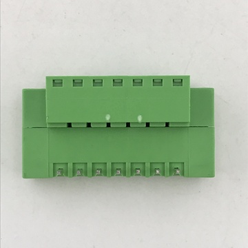 3.5MM pitch pluggable terminal block with fixed flange