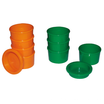 Hospital Plastic Four Meal Medicine Cups