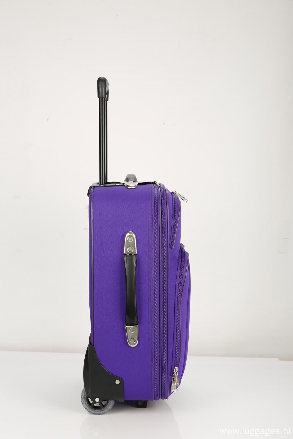 Soft Luggage with EVA Pocket