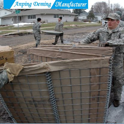 Deep Galvanized Welded Defensive Barrier