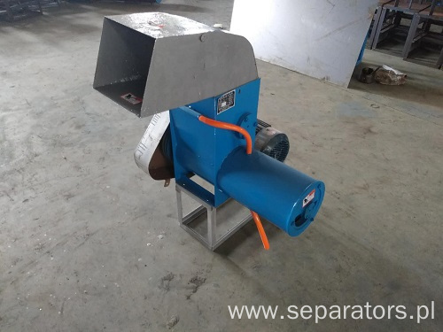 Small miniature coupling starch separator
