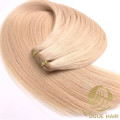 High quality hand tied weft hair extensions