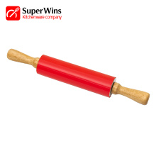 Non-Stick Rolling Pin Baking Tools With Wooden Handle