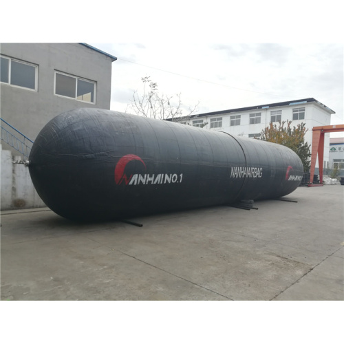 Safe Black Rubber Marine Salvage Lift Airbag