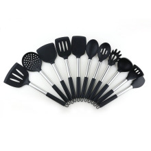 11pcs nonstick silicone kitchen utensils cooking set