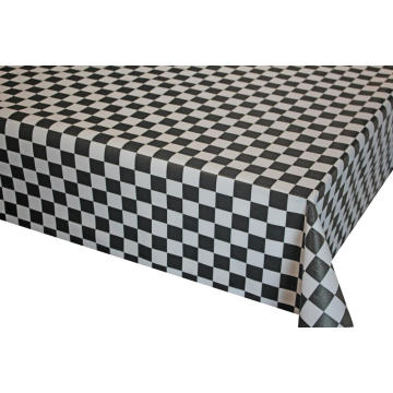 Pvc Printed fitted table covers Fall Table Runner
