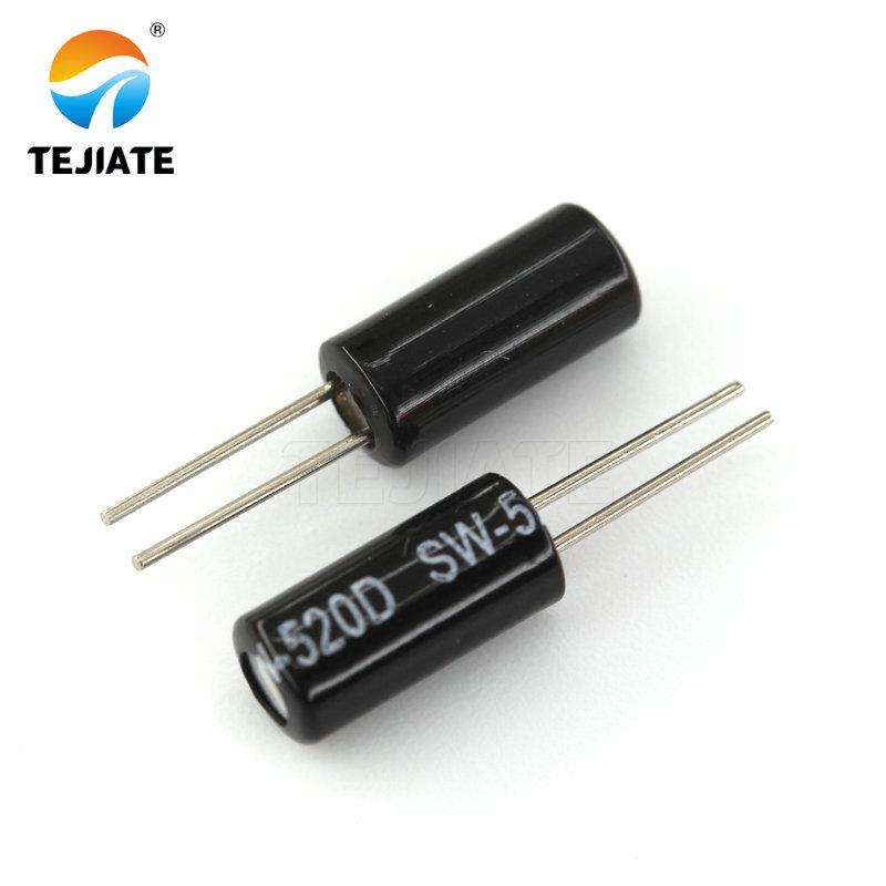 10PCS SW-520D 5X12MM Highly sensitive SW520 ball switch angle sensor Tilt switch vibration switch