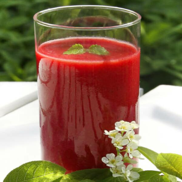 High quality goji berries juice