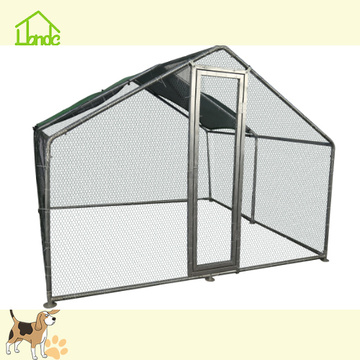 High Quality Galvanized Covered Large Chicken Coop Run