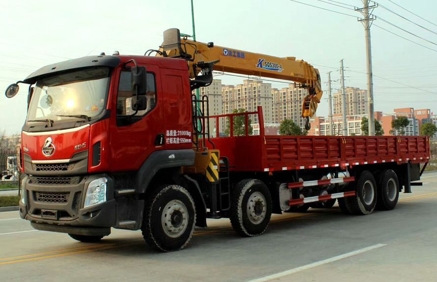 manual truck mounted crane