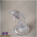 Small Glass Dolphin For Decoration