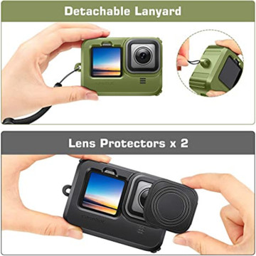 Custom Soft Rubber Waterproof Housing Case