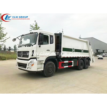 Deluxe type Dongfeng 270hp 18cbm Refuse Recycling Truck