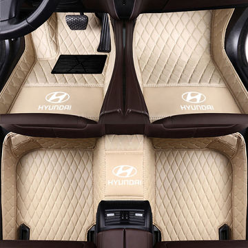 Luxury Car Mat Diamond Car Floor Mats 5d Case for HYUNDAI Car Mats