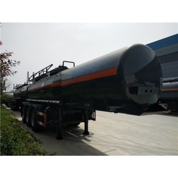 19000 liters Tri-axle Chemical Liquid Tank Semi-trailers