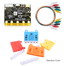 BBC Micro:bit Starter Kit with Micro:bit Breakout Board,Microbit Board case and Alligator Clips Used for Teaching DIY Beginners