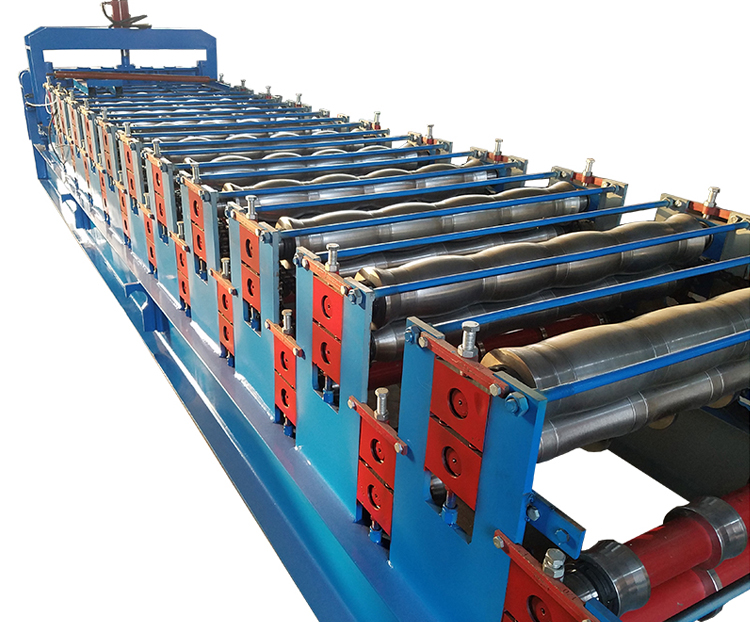 Double Layer Tile Forming Machine