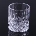 Glass Embossed Candle Cup