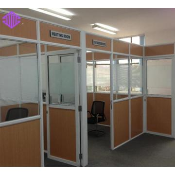 half glass wall office partition