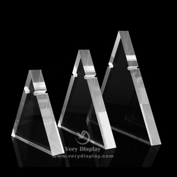Customized acrylic necklace display stand rack