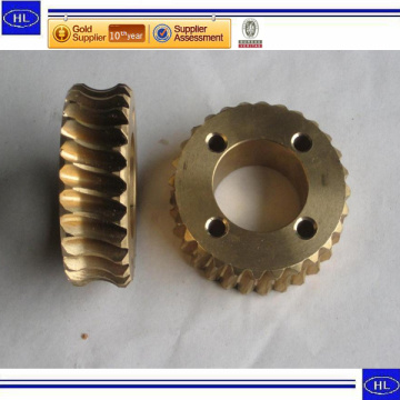 Custom Made Bronze Casting Parts with CNC Machining