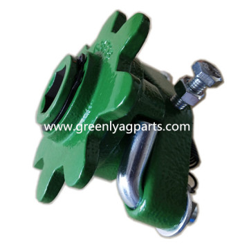 AA28276 Cradle with G36735 sprocket for John Deere