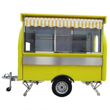 Concession Food Trailer Mobile Food Truck 280x200x240cm