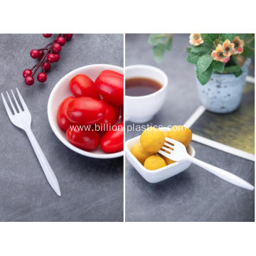 Plastic Fork with Tissue