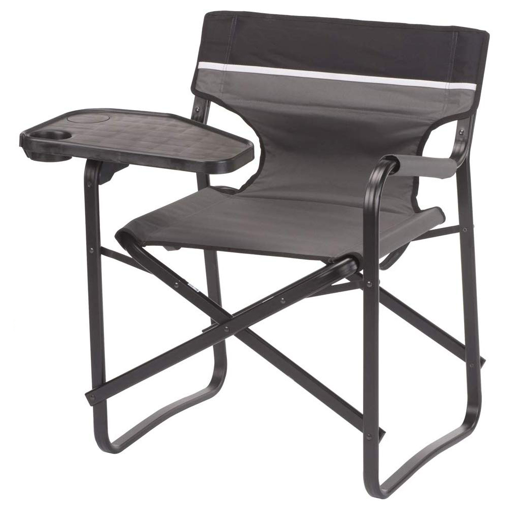 Aluminum Folding Chair With Swivel Table