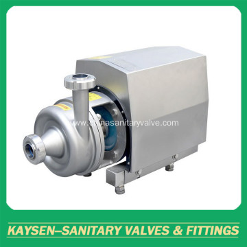 Sanitary pipeline high shear movable emulsion pump