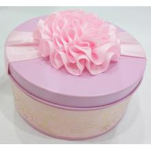 Pink Colour Wedding Candy Tin