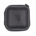 High-end protective mini pu earphone carrying case with zipper
