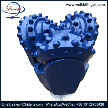 water well inserted tooth tci tri-cone drill bit