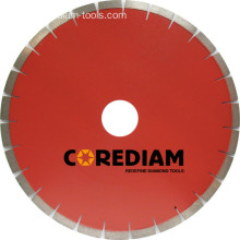 Laser Welded Segmented Granite Disc