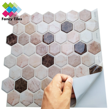 indoor mosaic wall tile sticker waterproof