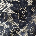 Black Lace Bonded Fabric
