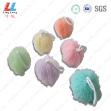 Lantern mesh artificial bath sponge