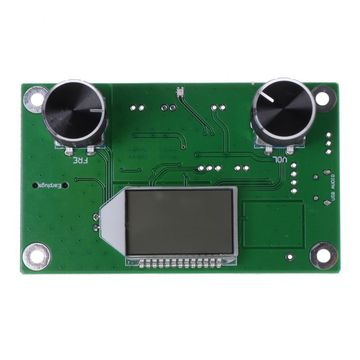 Updated 87-108MHz DSP&PLL LCD Stereo Digital FM Radio Receiver Module + Serial Control Professional