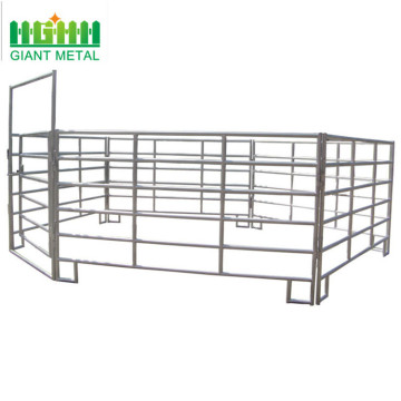 Portable metal horse panels