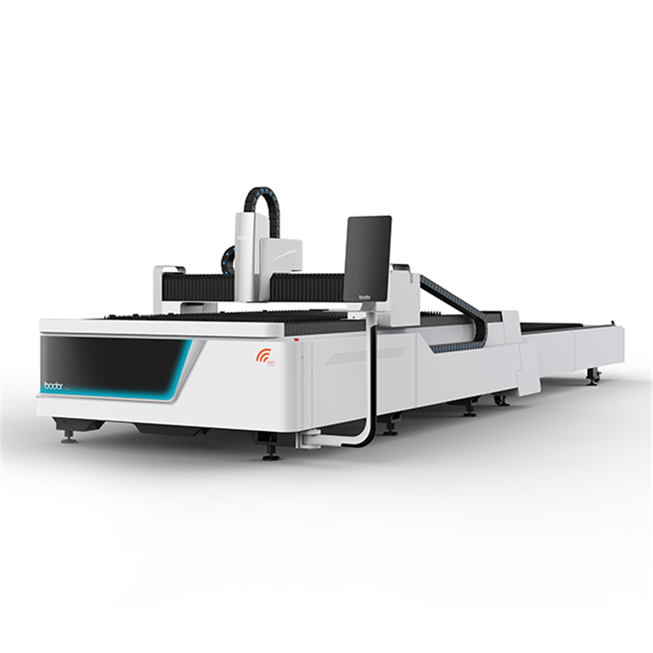 Laser cutting machine for concrete